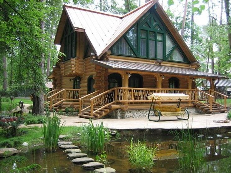 дом совмещённый с баней