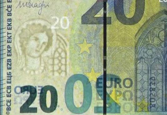 Новая купюра 20 евро