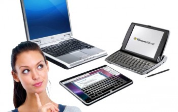 выбор между планшетом, нетбуком или ноутбуком