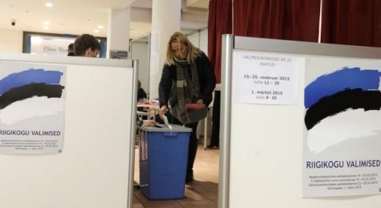 Выборы в Эстонии