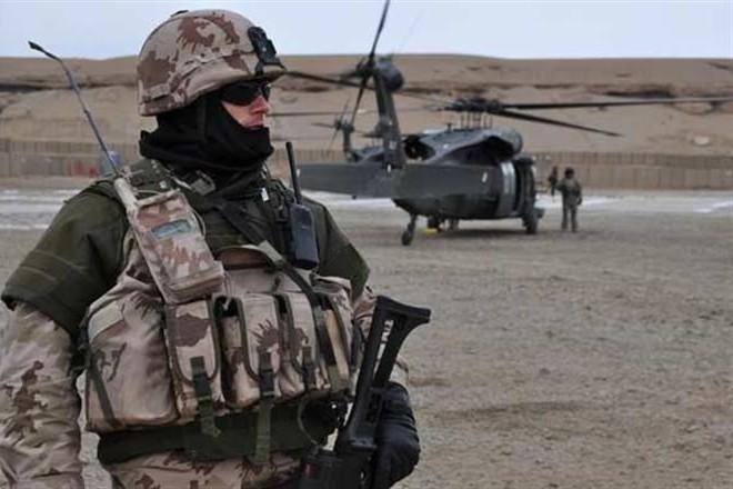 Украино-американские военные тренировки во Львове