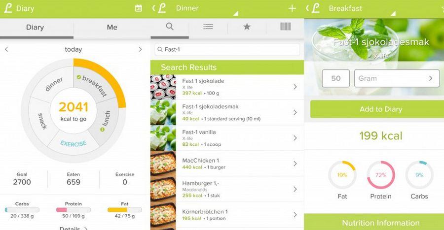 Приложения для здорового образа жизни