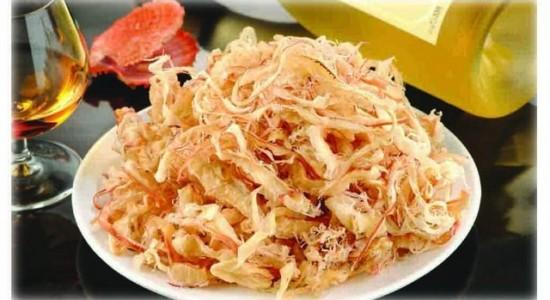 Рецепты с кальмарам