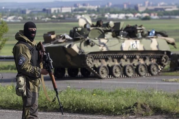 Жители зоны вооруженного конфликта