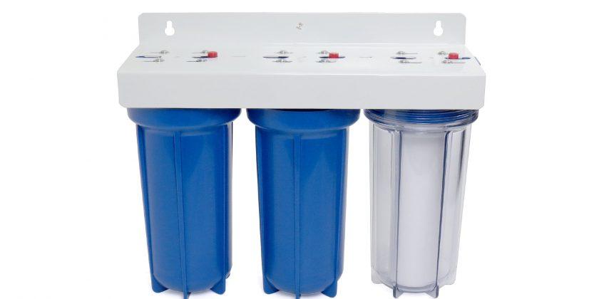 Что такое магистральный фильтр очистки воды