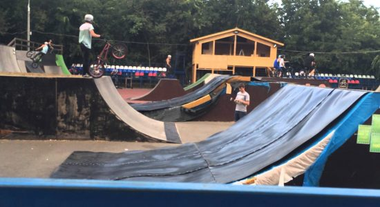 Чем можно заняться в типовом скейт-парке?